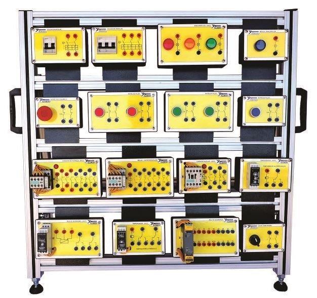 Bancada didática de comandos elétricos