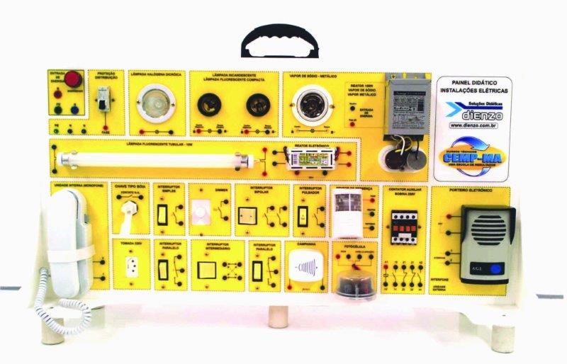 Bancada didática elétrica
