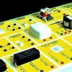 Estação didática para instalações elétricas