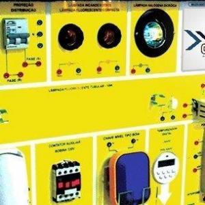 Bancadas didáticas instalações elétricas