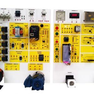 Kit didático motor elétrico