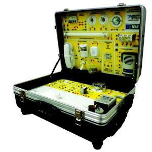 Maleta didática para instalações elétricas